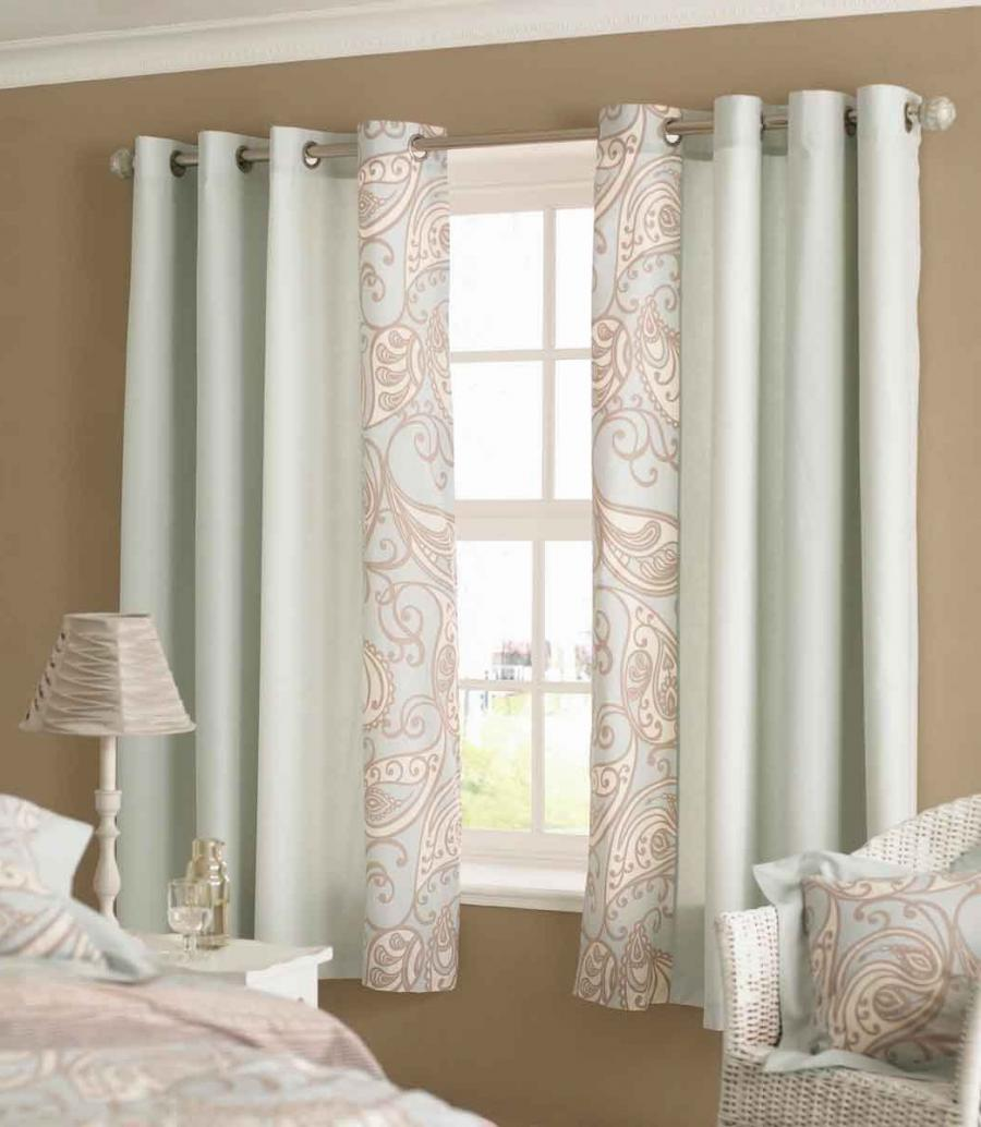 Better homes and gardens interior decorating windows for 3 window curtain design