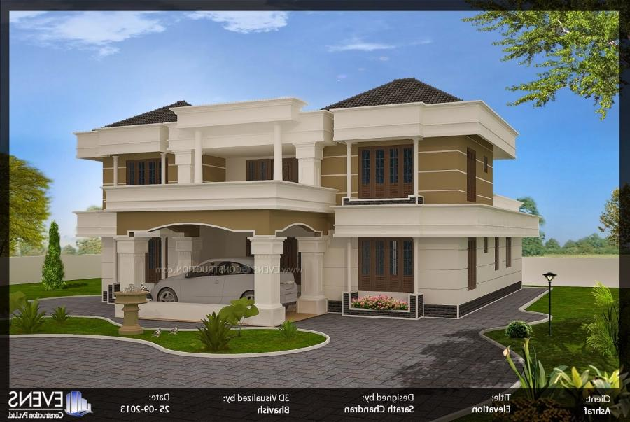 North indian house designs photos for Modern design building services ltd