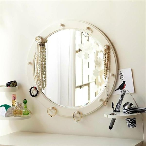 Pottery barn vanity mirror