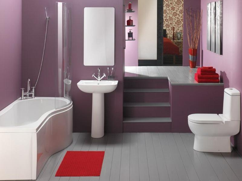 ... Contemporary Decoration Ideas for Bathroom ...