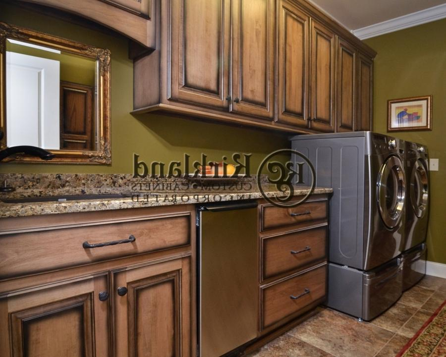 Glazed Distressed Cabinets Photos