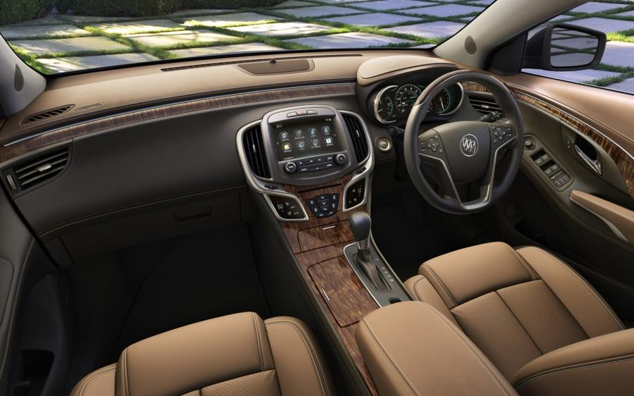 2014 Buick Enclave Interior Photos
