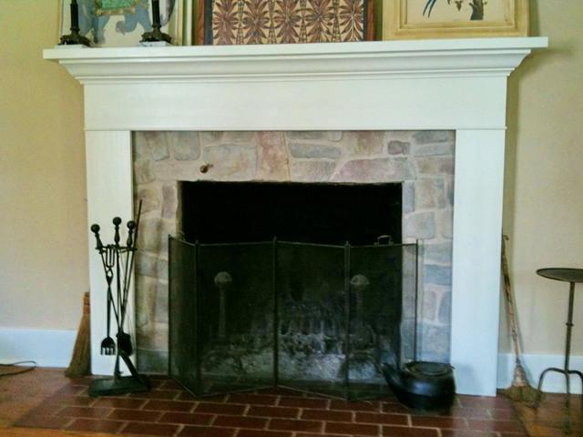 Photos of refaced fireplaces - How to reface a brick fireplace ...