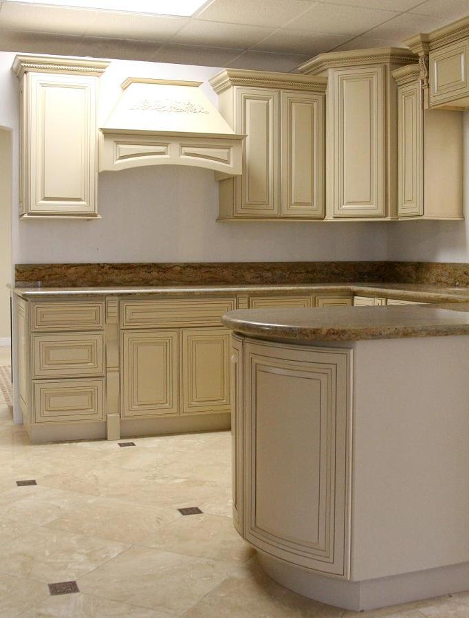Photos Of White Glazed Kitchen Cabinets
