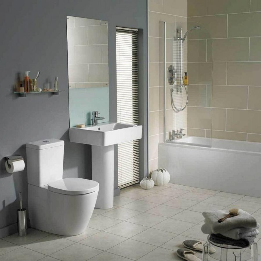 Gallery of Simple Bathroom Designs