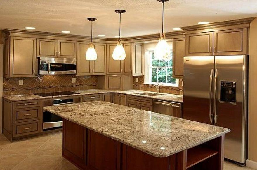 Hickory kitchen cabinets lowes - Lowes Kitchen Remodeling Photos