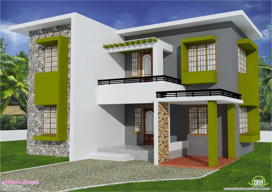 ravishing simple flat roof home design simple house kerala kerala...