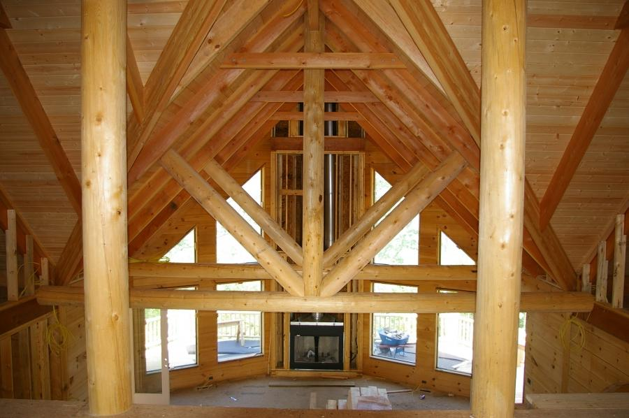 Log Cabin Interior Photo Gallery