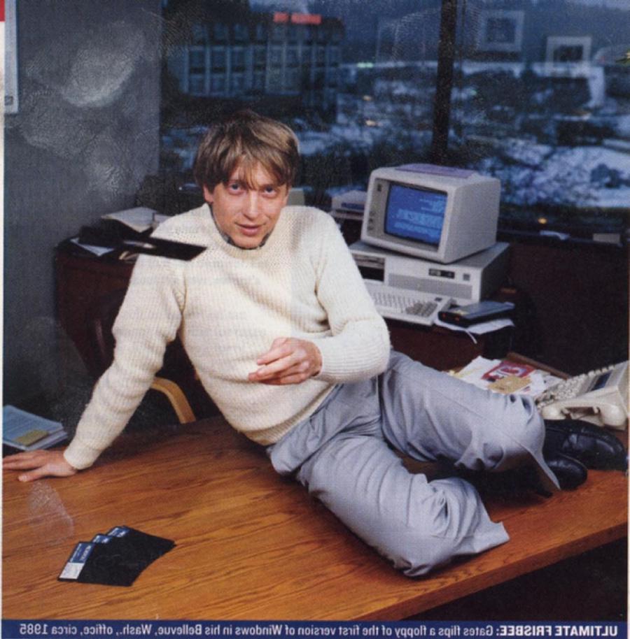 Bill Gates Young Age Photos