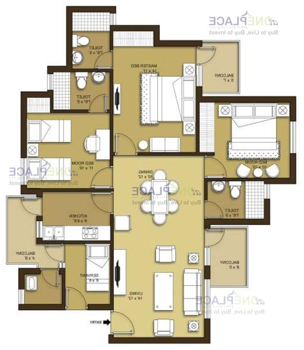 1500 sq feet house plans with photos in india for 1500 sq ft apartment floor plan