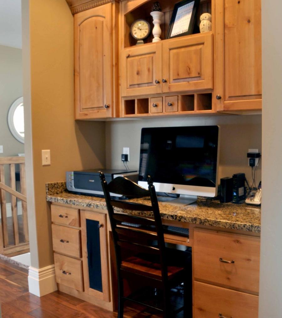 Built In Kitchen Desks Photos
