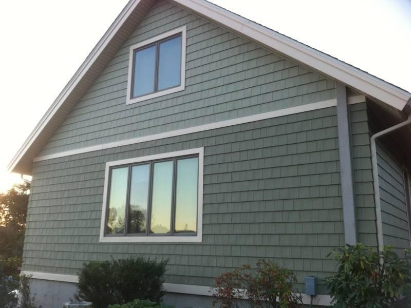 Cedar Shake Vinyl Siding Photos