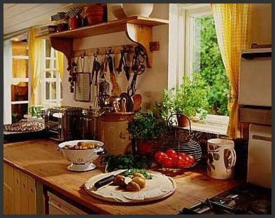 Elegance French Country Kitchen Home Interior Decorating Ideas