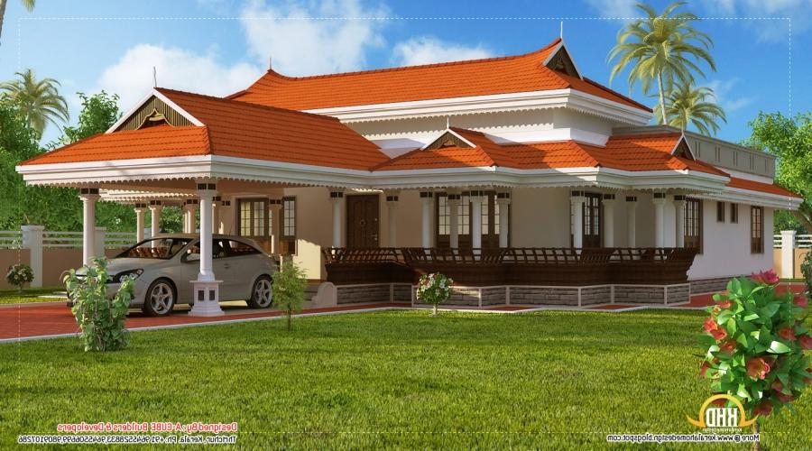 Yards 3 Bedroom Kerala House Design By Green Homes Thiruvalla...
