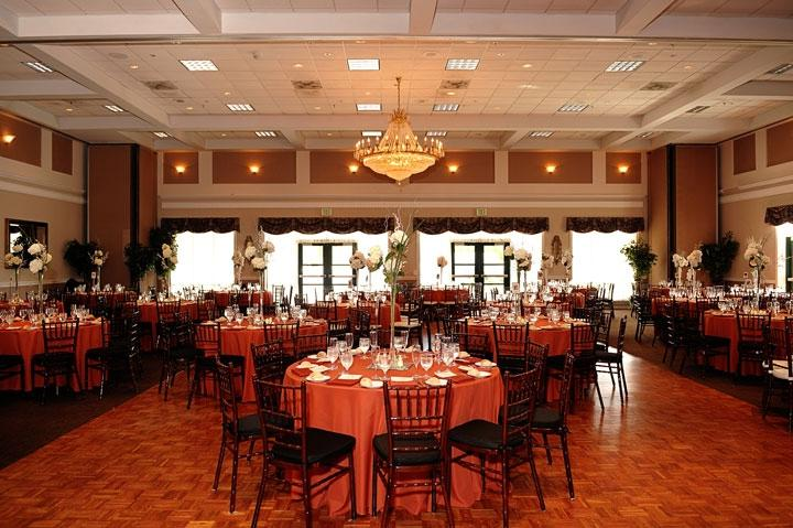 Ten Oaks Ballroom beautiful wedding ballroom picture