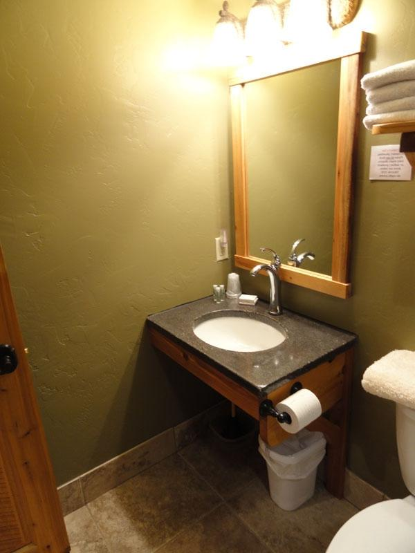 Handicap bathroom vanity
