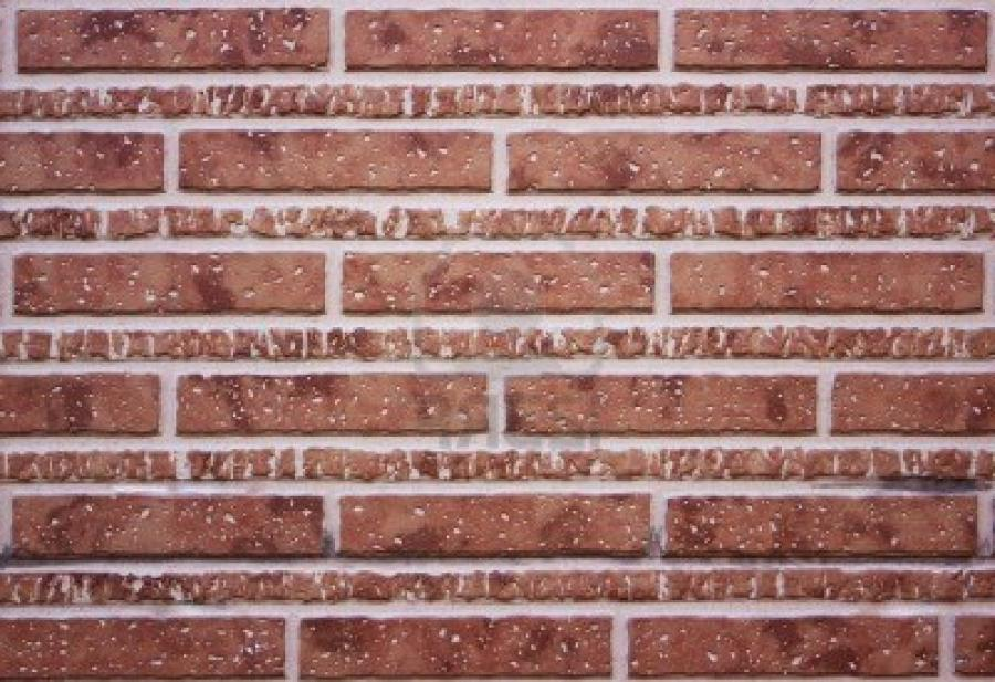 Classic Decorative Brown Brick Wall Royalty Free Stock