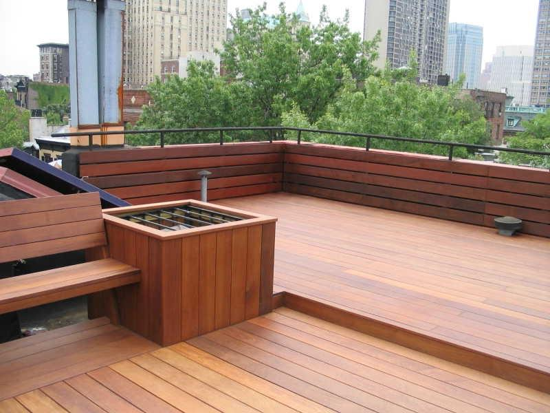 Photos Of Decks With Roofs