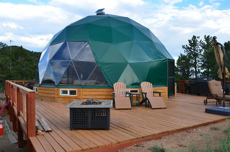 Photos Of Geodesic Dome Houses