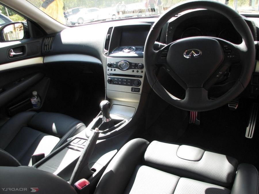 G35 Coupe Interior Photos