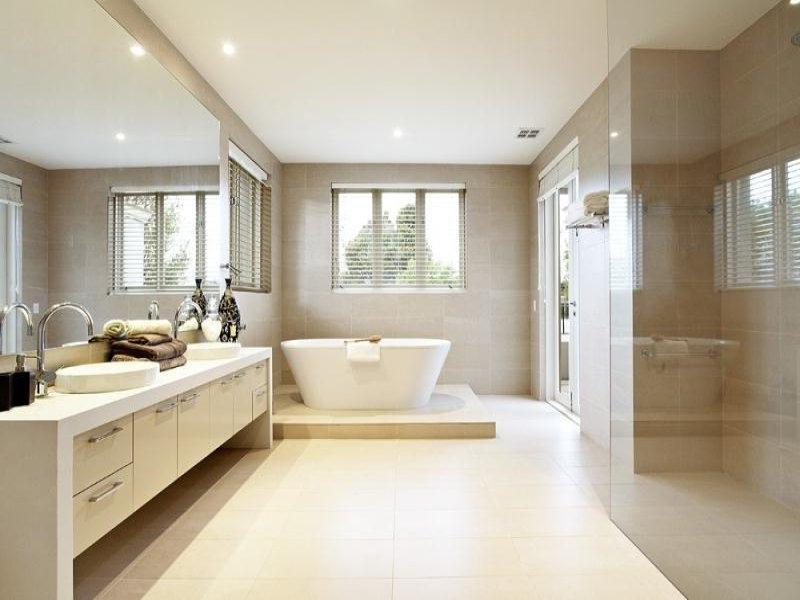 Natural Tone For Elegant Bathroom Designs Ideas With Sketchy...