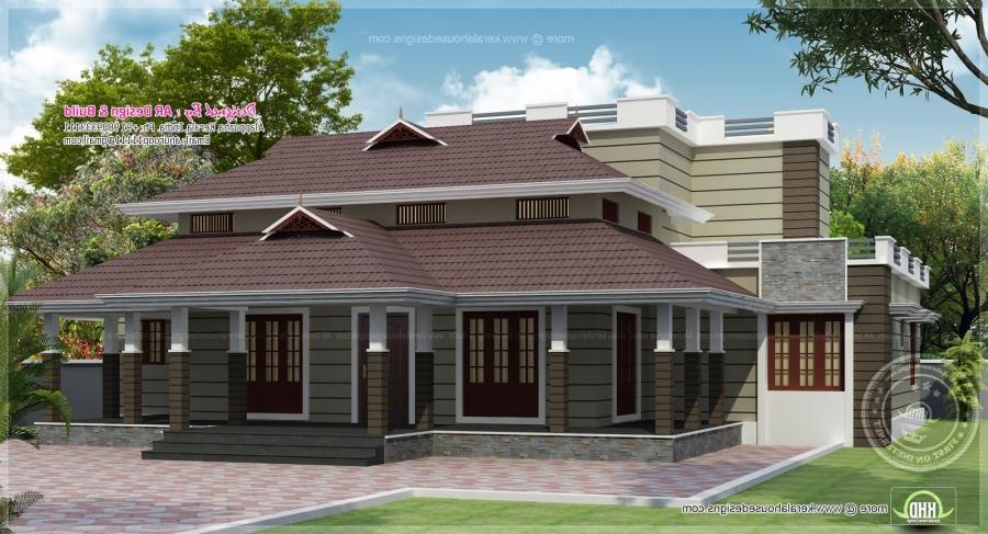 Modern nalukettu house plans joy studio design gallery for Kerala veedu plans photos