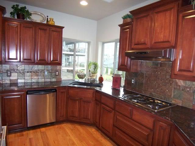 Tan Brown Granite Kitchen Photos