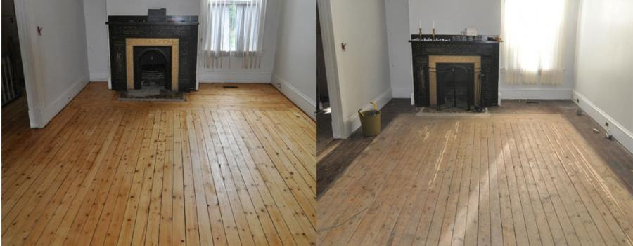 Before And After Photos Of Refinished Hardwood Floors