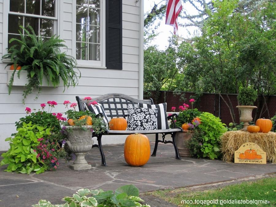 Photos Fall Decorations Outdoors