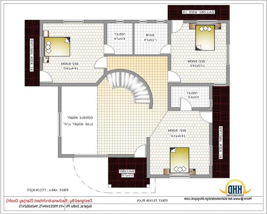 House Plans Beautiful Indian House Plans With House Designs