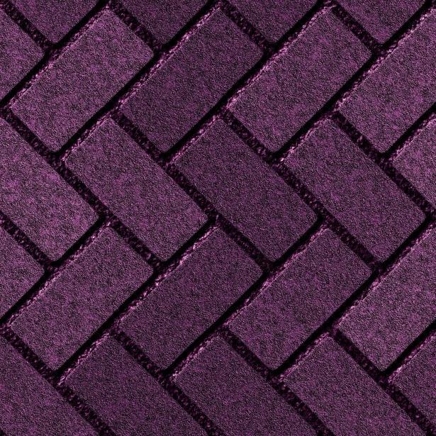 Photo Diagonal Herringbone Brick