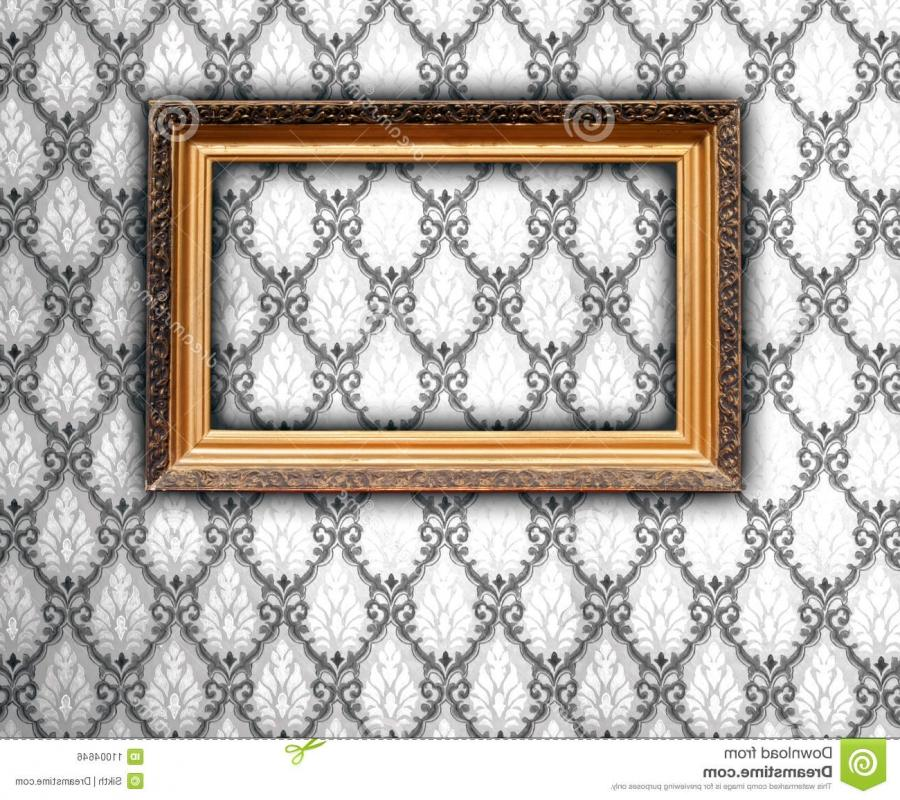 Black and white photo frame wallpaper
