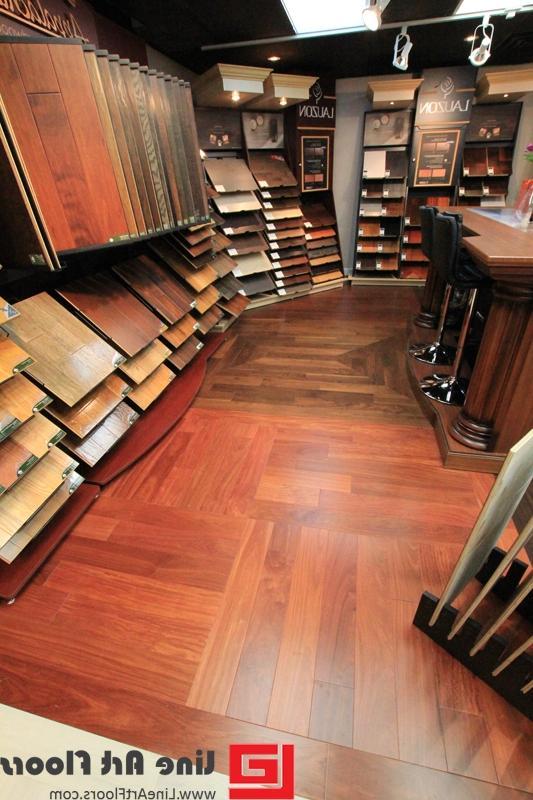 Satin plastic laminate bay photo for Laminate flooring vancouver