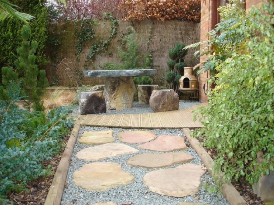 Photos of japanese garden design for Japanese garden inside house