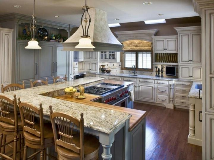 L Shaped Kitchen Island Photos