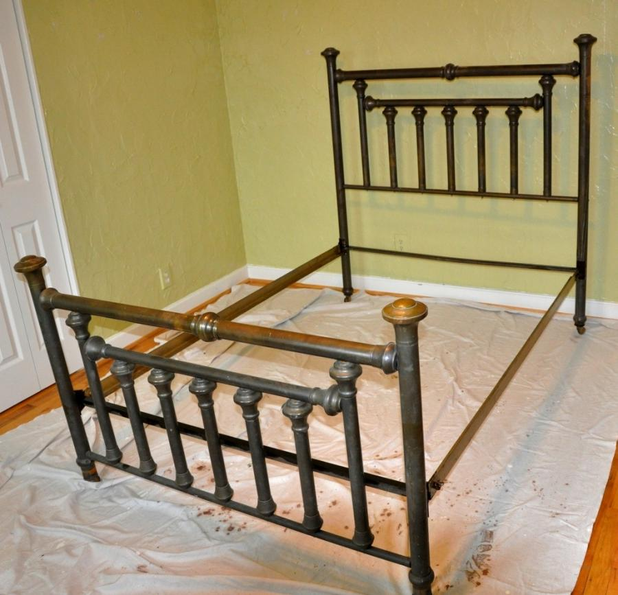 Antique Brass Bed Photos