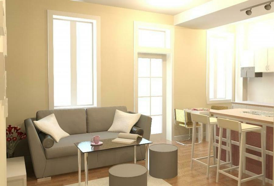 Design studio apartment photos for Studio apartment design uk