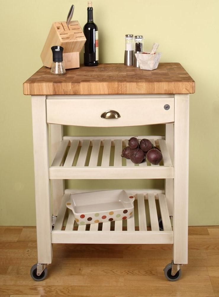 Eddingtons kitchen trolley the lambourn 3 drawer stainlee steel top - Kitchen Trolley Photos