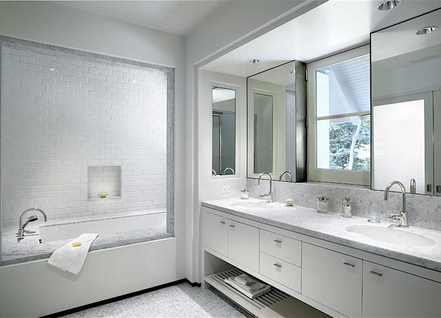 ... White Bathrooms Contemporarycontemporary White Bathroom...