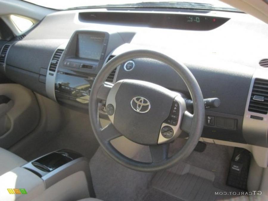 2006 prius interior photos