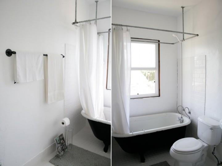 Shower Curtain Photo Holder