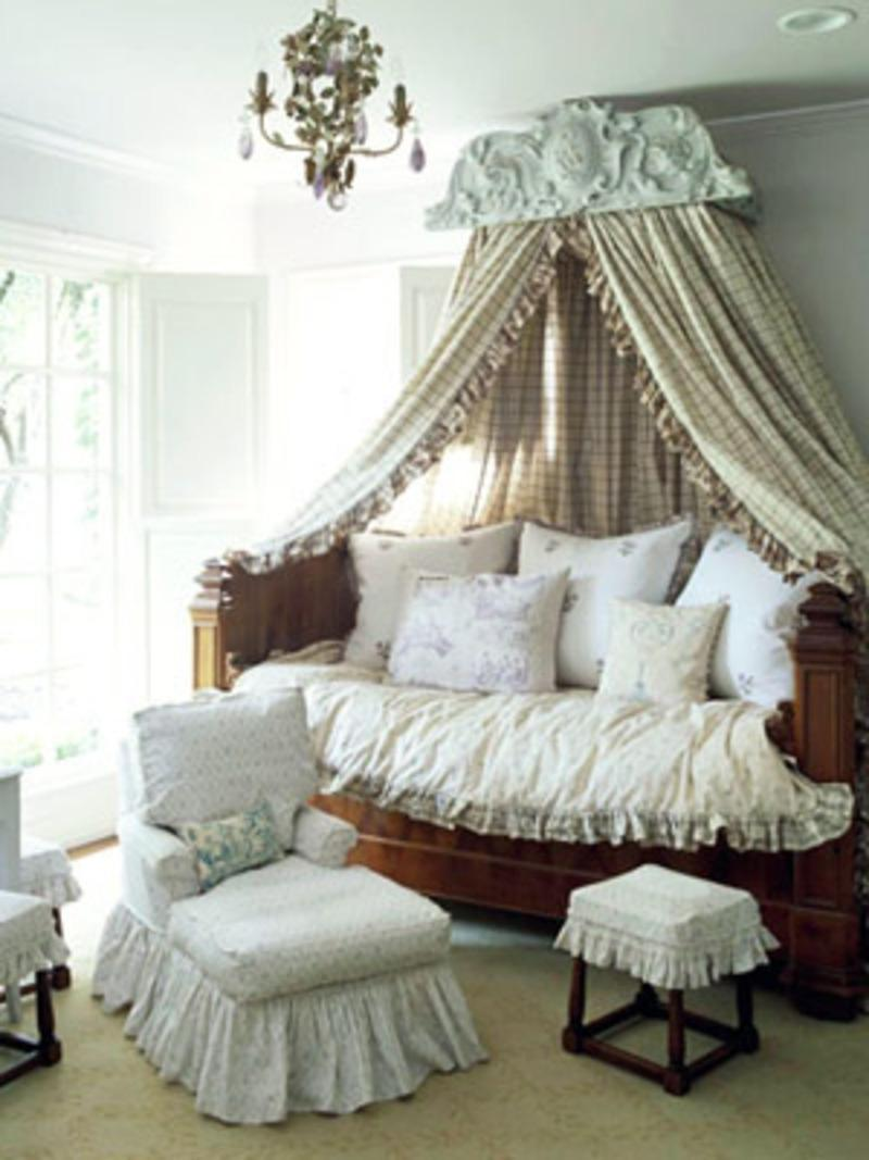 Traditional French Bedroom