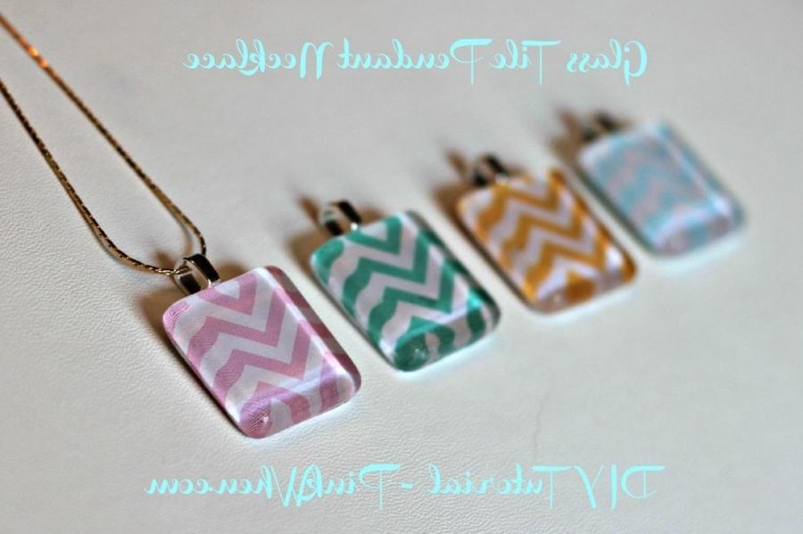 glass tile photo pendant supplies