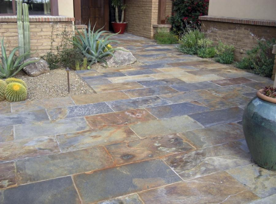 Slate Patio Flooring Photo