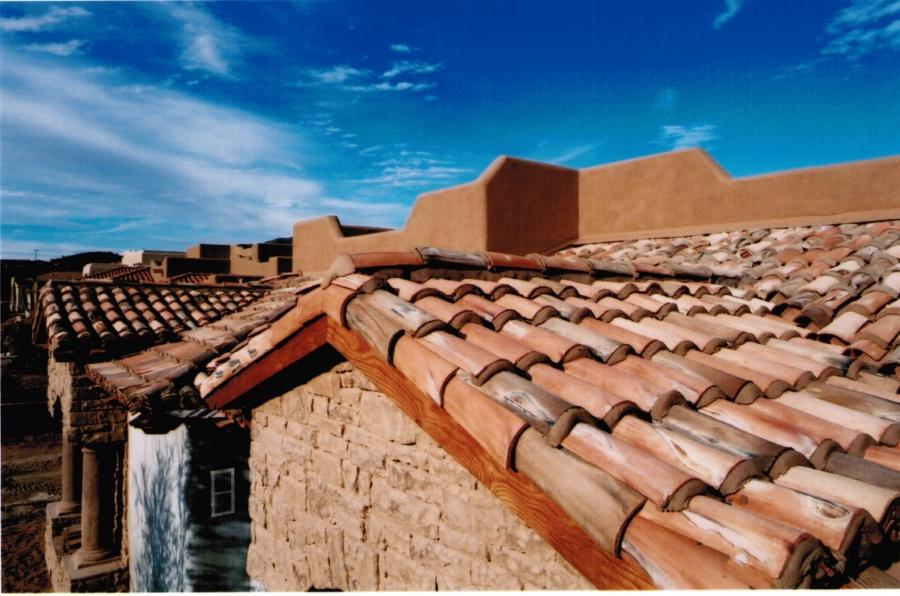 Clay Tile Roof Photo