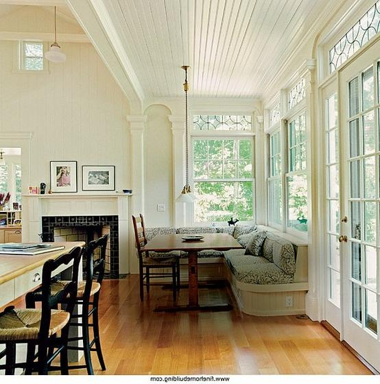 Kitchen Inspiration Month: Day Five - Beadboard Ceilings