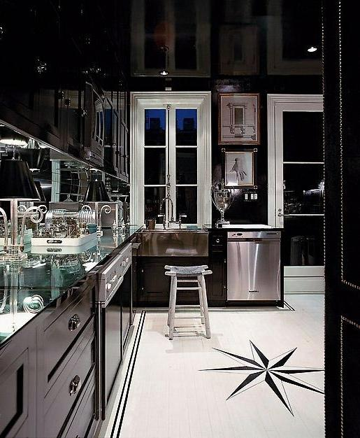 Color Inspiration: Thoughts on Black Kitchens?