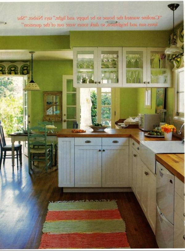 Green Kitchen Idea listed in: