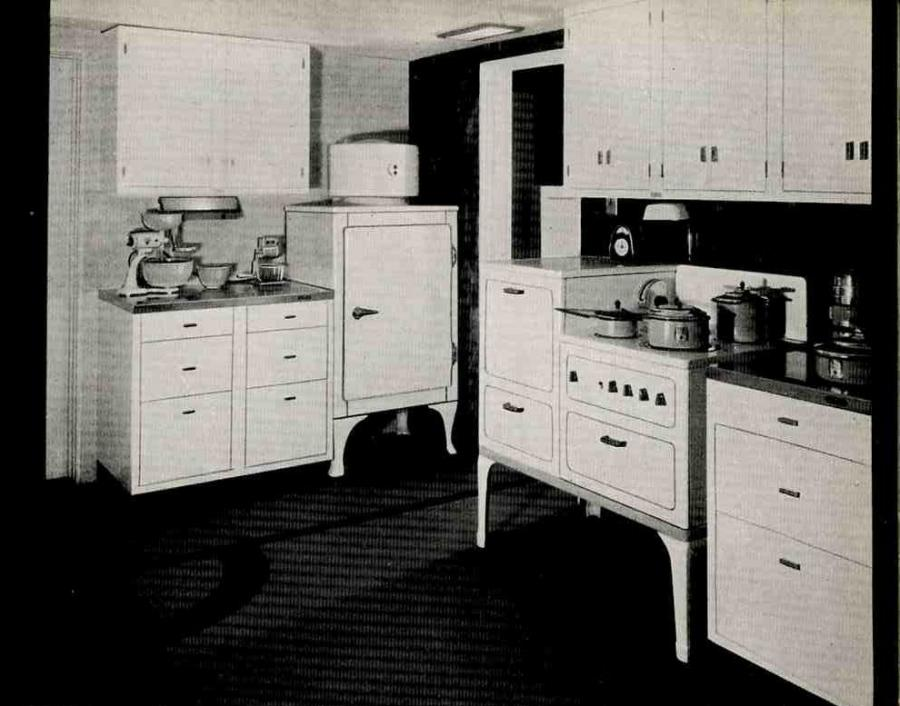 1930s Kitchens Photos