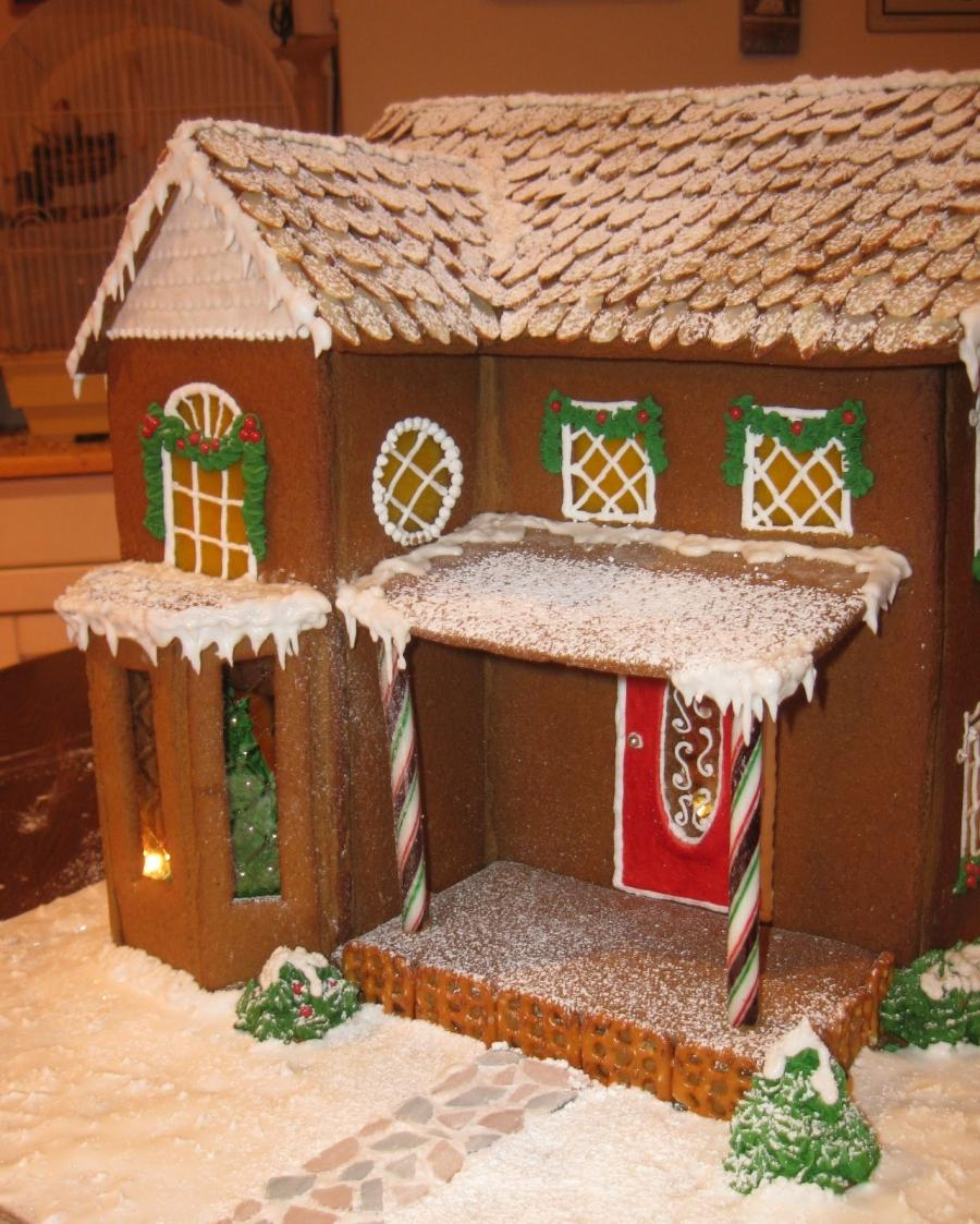 Gingerbread house photos ideas for Gingerbread house decorating ideas